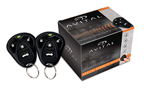 Avital1-way security and remote start system 5103L