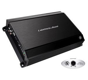 LIGHTNING AUDIO L-1250   500 Watt Class-AB Mono Amplifier